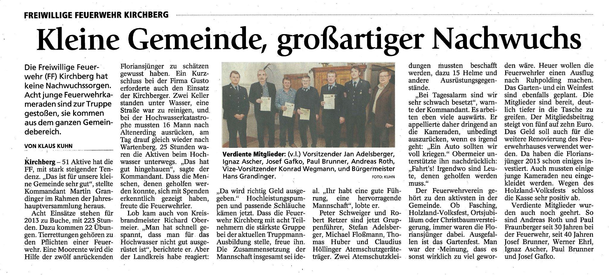 Zeitungsartikel_Jahreshauptversammlung_2014